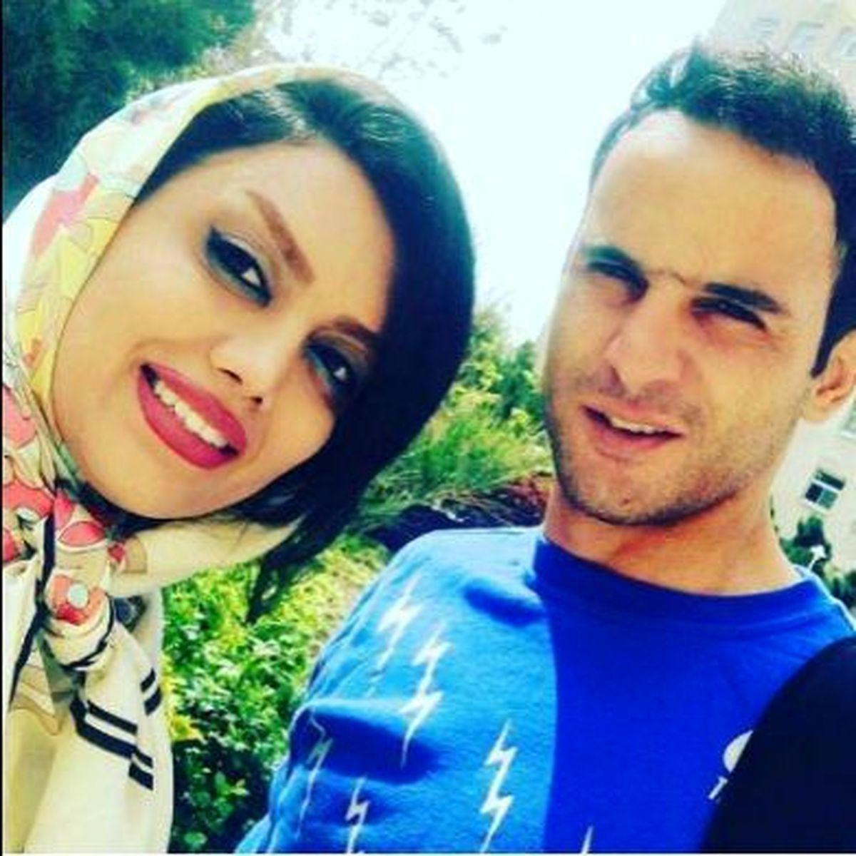 عکس عاشقانه آرش برهانی و همسر باردارش + تصاویر و بیوگرافی