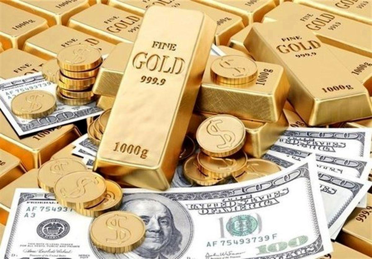نرخ ارز دلار سکه طلا یورو   دوشنبه 20 اردیبهشت   1400/2/20