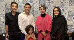 علیرضا فغانی در کنار شبنم قلی خانی و پوریا پورسرخ در استرالیا+تصاویر