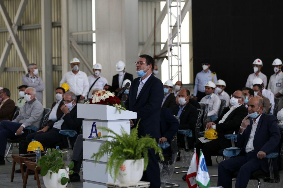 افتتاح بزرگترین واحد تولید آلومینیوم کشور