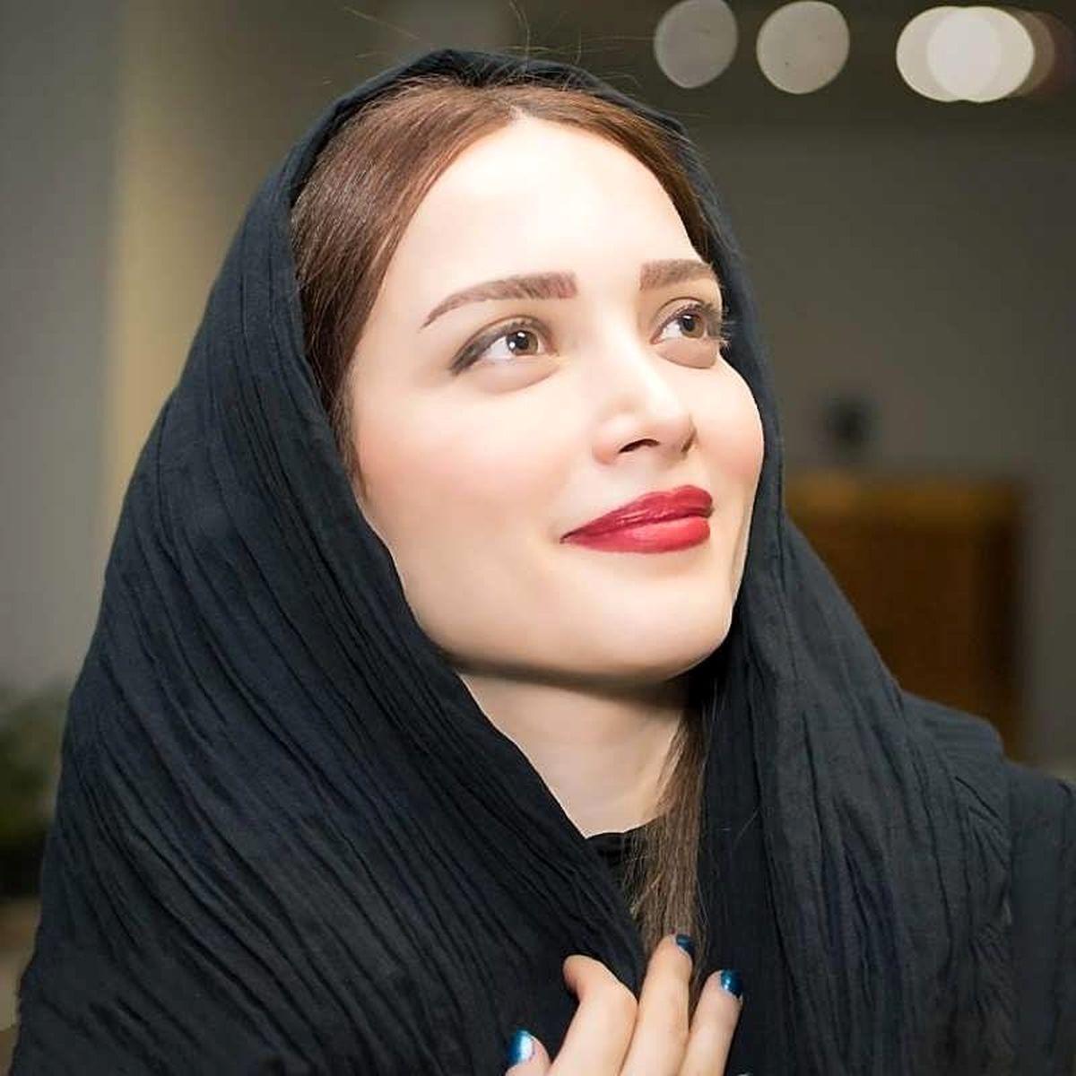 رقصیدن بهنوش طباطبایی همسر سابق مهدی پاکدل جلوی دوربین + فیلم