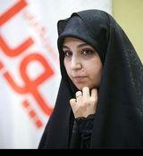 دختر سردار سلیمانی پای صندوق رای + عکس