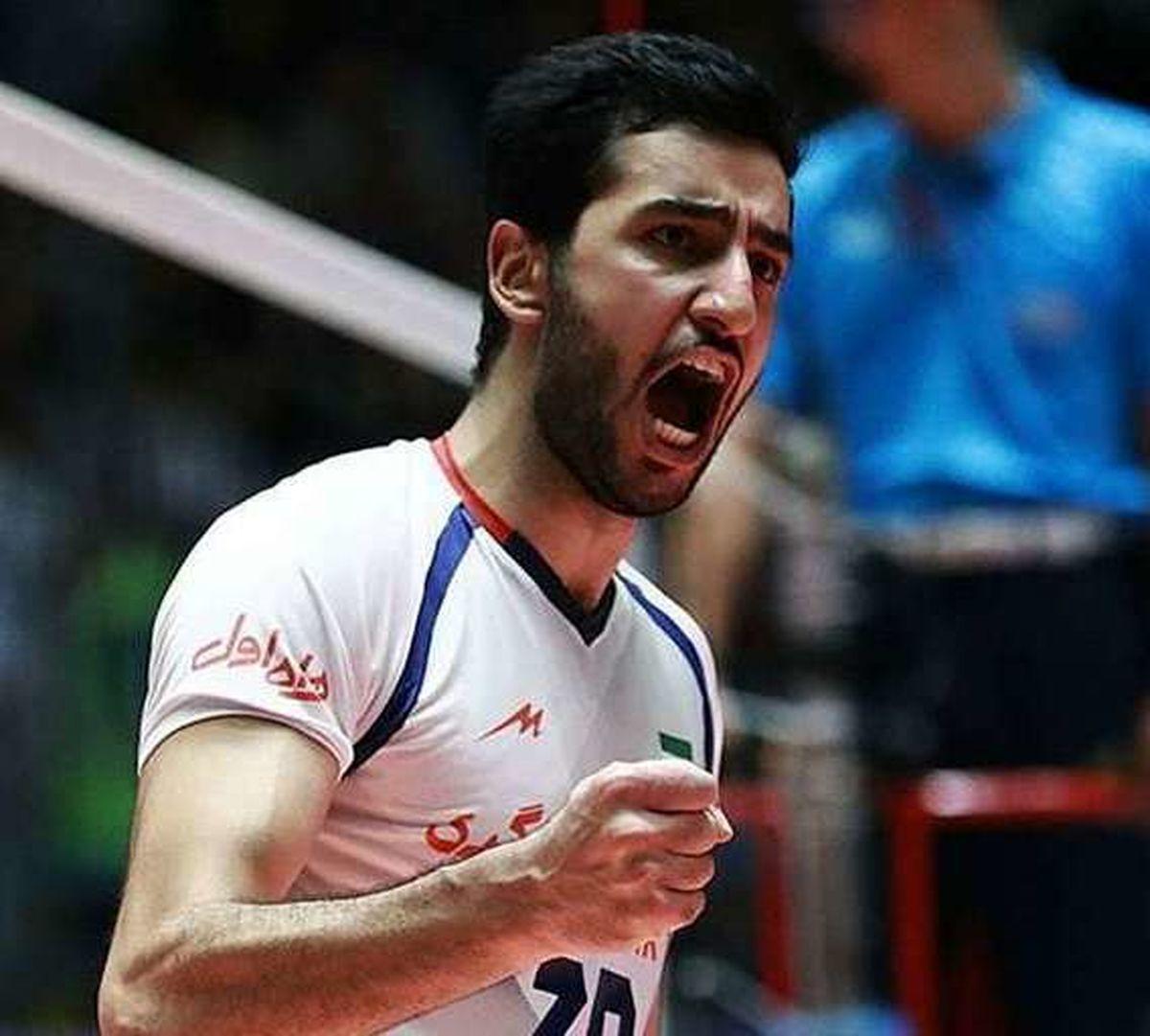بیوگرافی مسعود غلامی بازیکن والیبال ایران+تصاویر