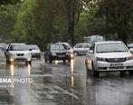 بارندگی در جادههای ۸ استان