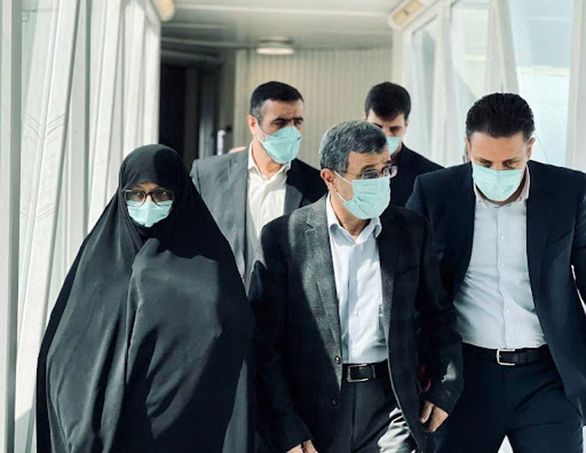 سفر پرحاشیه محمود احمدی نژاد و همسرش به دبی   سوابق محمود احمدی نژاد