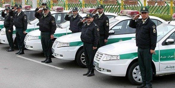 اماده باشی صد در صدی پلیس در اربعین در تهران + جزئیات
