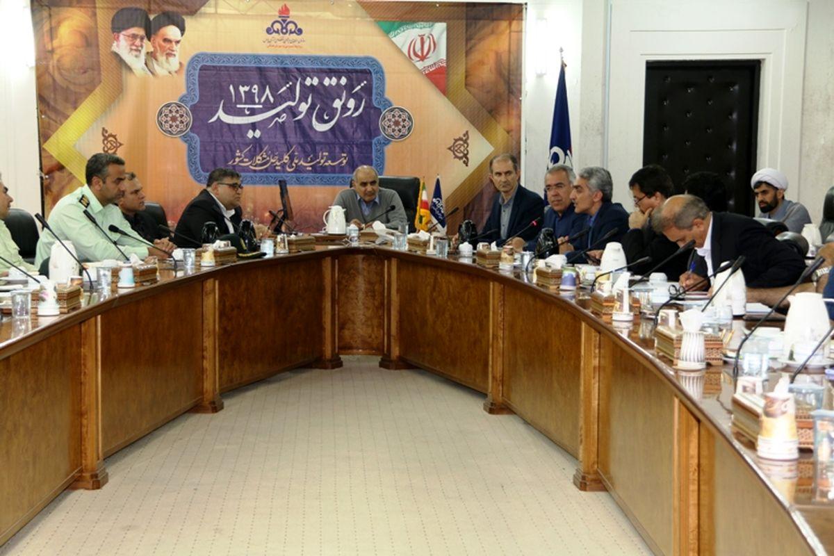 برگزاری جلسه کنترل و پیشگیری ویروس کرونا در سازمان منطقه ویژه پارس