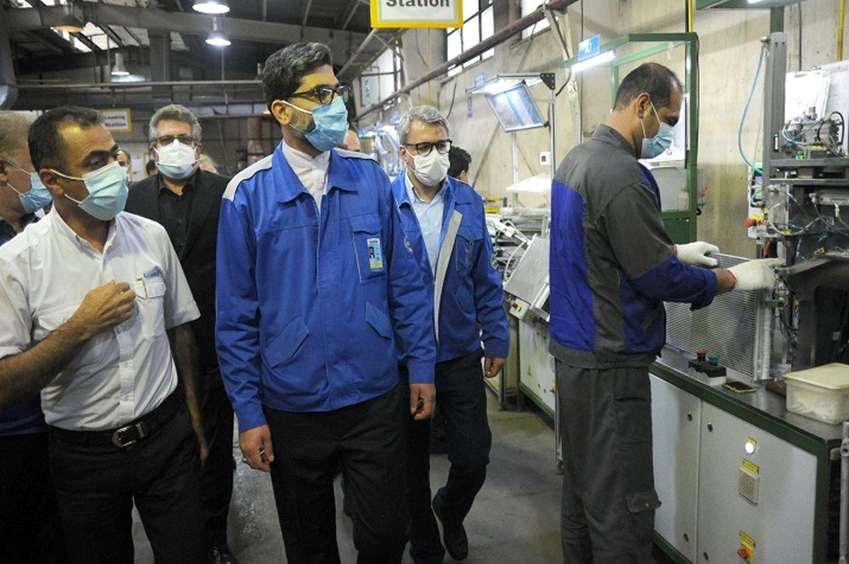 تامین به موقع قطعات با کیفیت و هزینه مناسب ایران خودرو