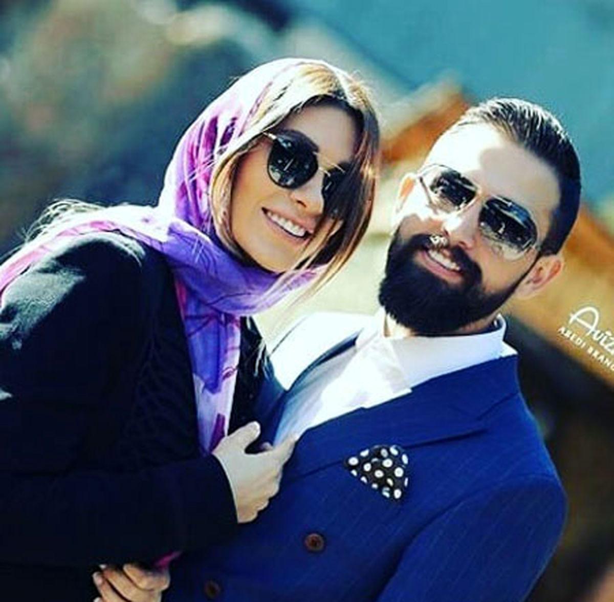 محسن افشانی و همسرش آشتی کردند | عکسهای محسن افشانی و سویل