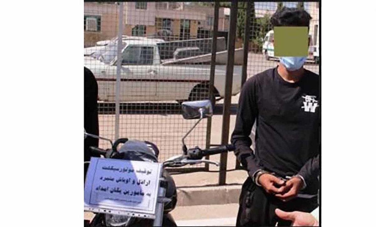 حمله خونین اراذل و اوباش به پلیس در شیراز   عکس