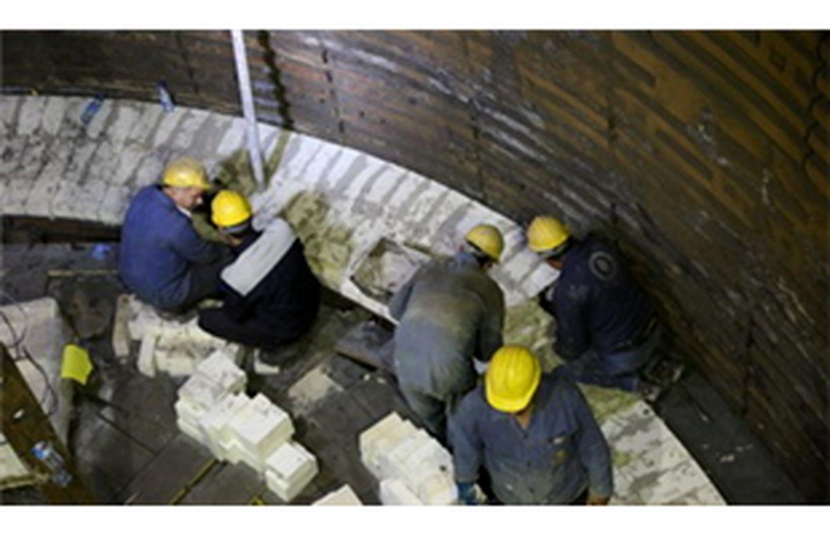 دستیابی به دانش فنی طراحی نسوز بدنه کوره بلند در ذوب آهن اصفهان