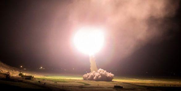 حمله موشکی ایران به پایگاه های امریکا در عراق + فیلم و جزئیات