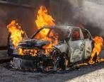 آتش زدن عمدی خودروها در شهرک بروجردی اتوبان بعثت + فیلم