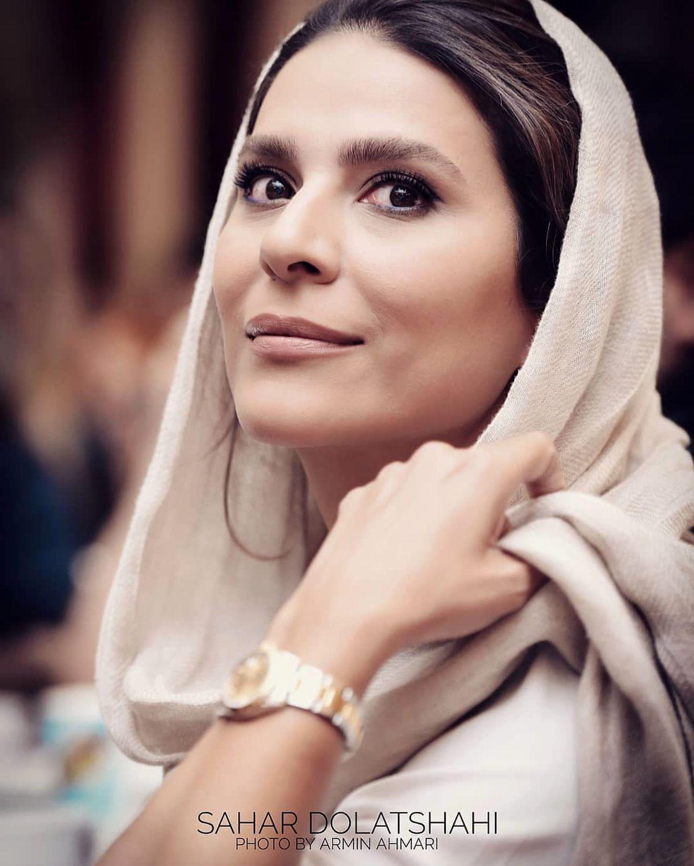 عکس غیر منتظره از سحر دولتشاهی   فیلم بارداری سحر دولتشاهی