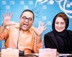 سانسور جنجالی موهای همسر رامبد جوان در سریال خاتون | بیوگرافی نگار جواهیران