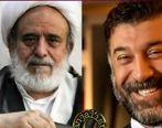 عموی علی انصاریان دست به دعا شد + عکس