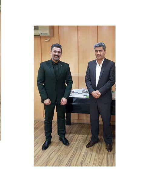 دیدار مدیر بیمه سرمد استان خوزستان با مدیر شعب بانک صادرات این استان