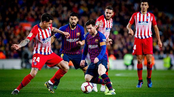 آمار عجیب از بازی بارسلونا اتلتیکومادرید
