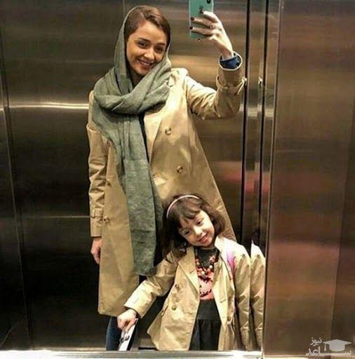 ترانه علیدوستی و دخترش