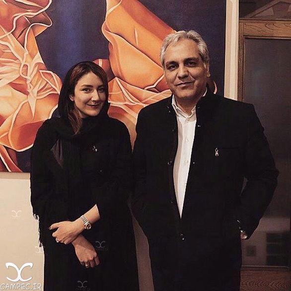 عکس جنجالی لو رفته مهران مدیری و خانم بازیگر + بیوگرافی و عکس