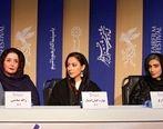 تیپ جالب بهاره کیان افشار ، ژاله صامتی و لیلا زارع در جشنواره فیلم فجر + عکس