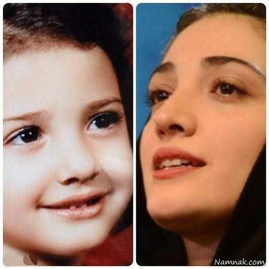 کودکی مینا ساداتی
