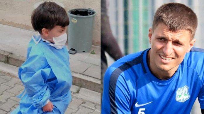 جوهر توکتاش   فوتبالیستی که پسر 5 ساله اش را به خاطر ویروس کرونا خفه کرد + عکس