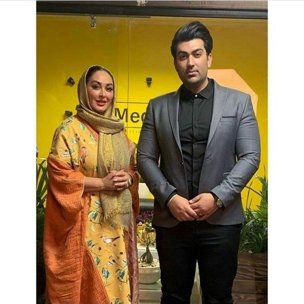 عکس الهام حمیدی و همسر خوشتیپش