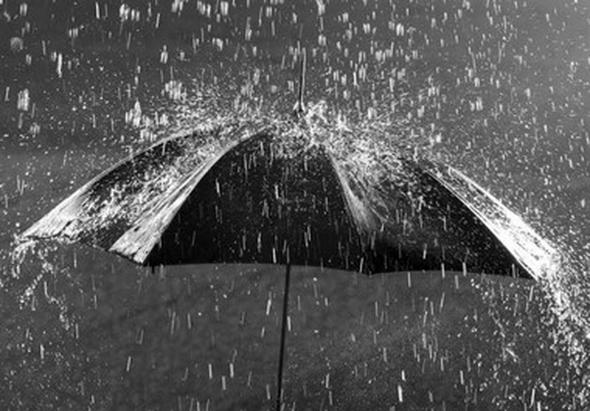 بارش باران موجب آبگرفتگی در اهواز شد