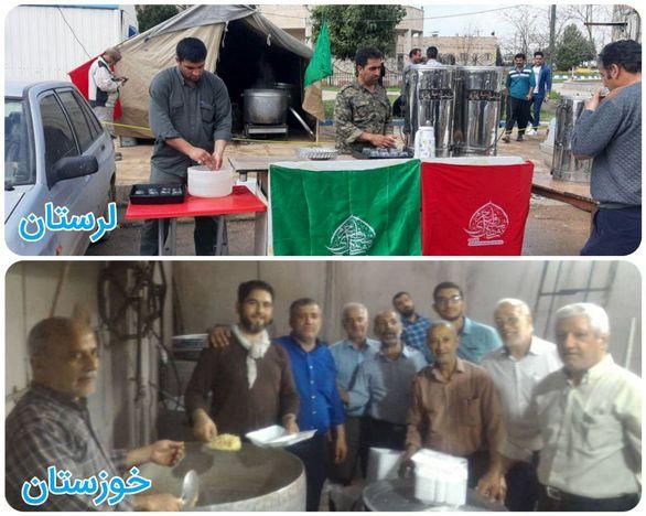 امدادرسانی موکبهای بانک صادرات ایران به هموطنان سیلزده ادامه دارد