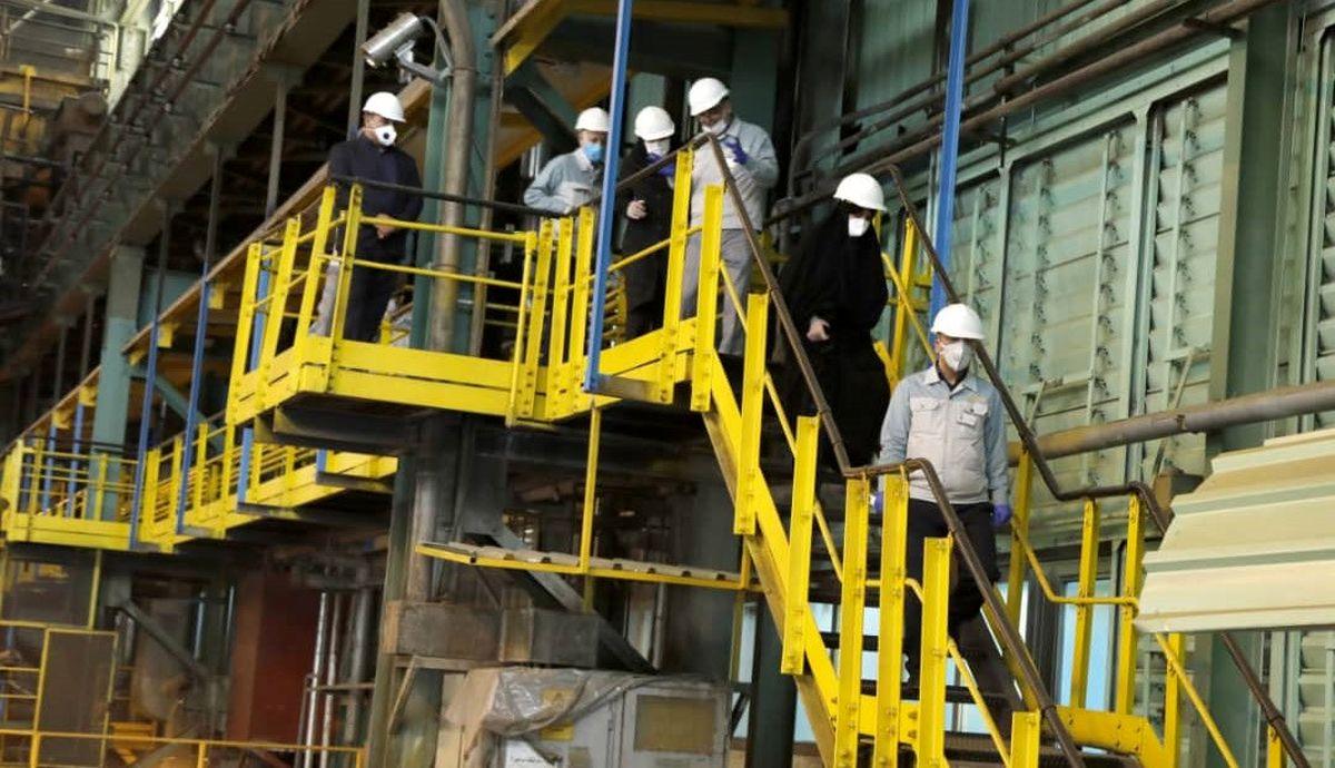 شعار «جهش تولید» از فولاد مبارکه سرچشمه خواهد گرفت