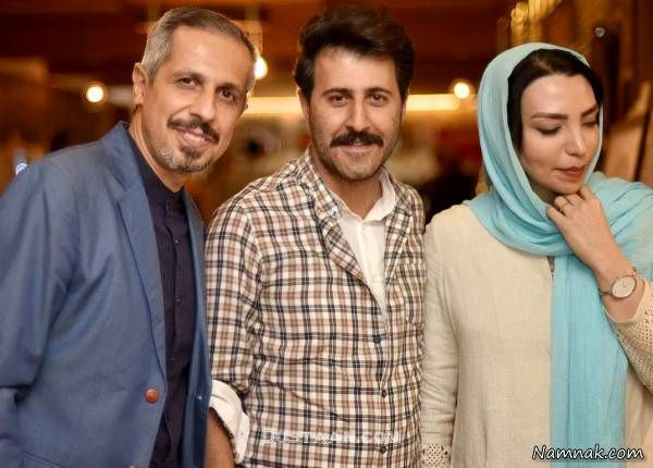 هومن حاجی عبداللهی و همسرش