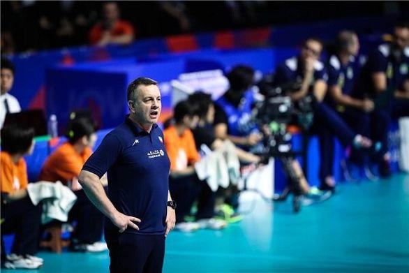 تیم ملی والیبال ایران در مسیر اماده سازی برای بازیهای المپیک