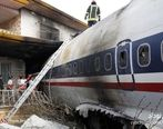 صحنههای دیده نشده از لاشه هواپیمای سوخته بویینگ + عکسها