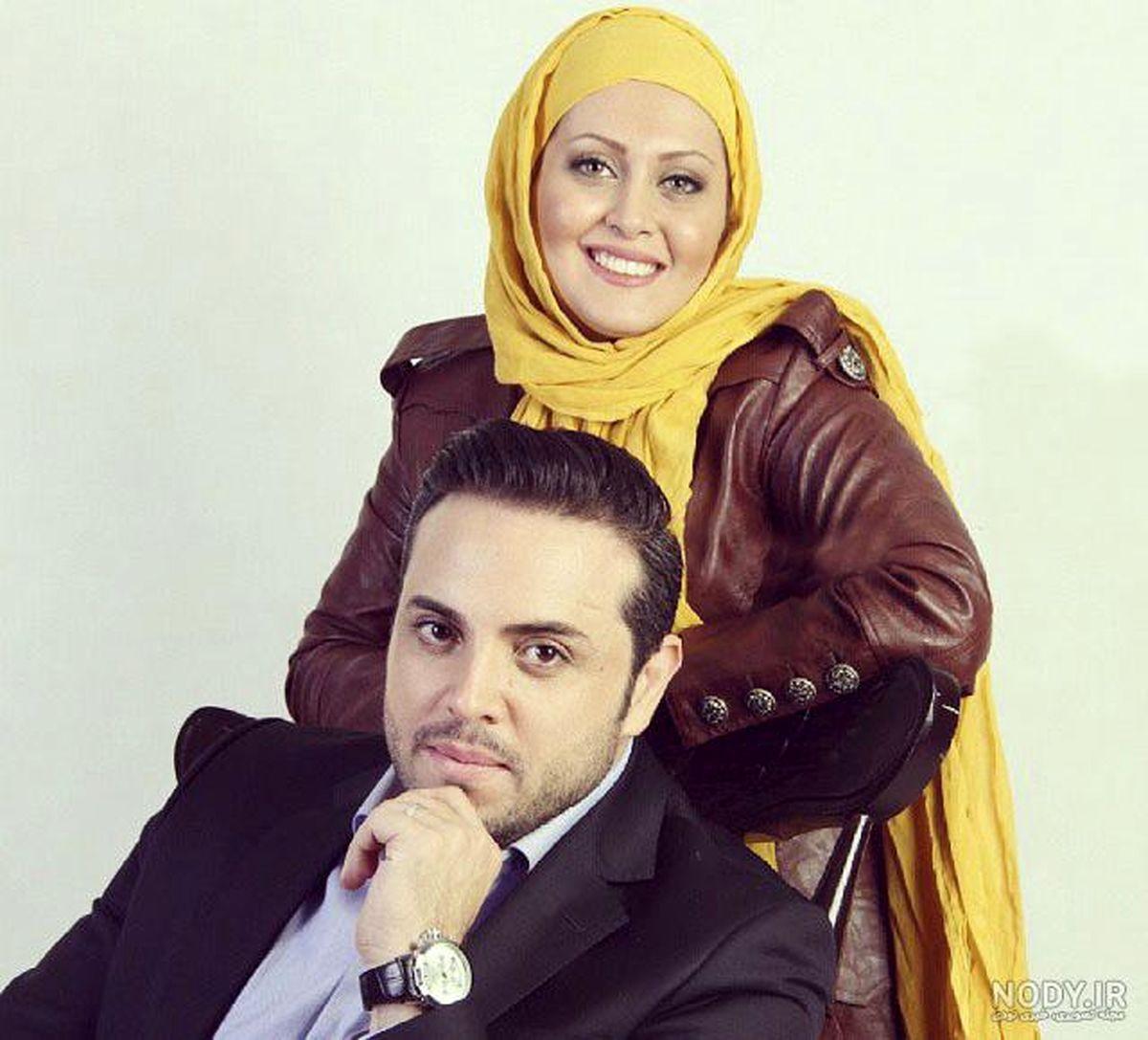 عکس عاشقانه پدرام کریمی در کنار همسرش + عکس