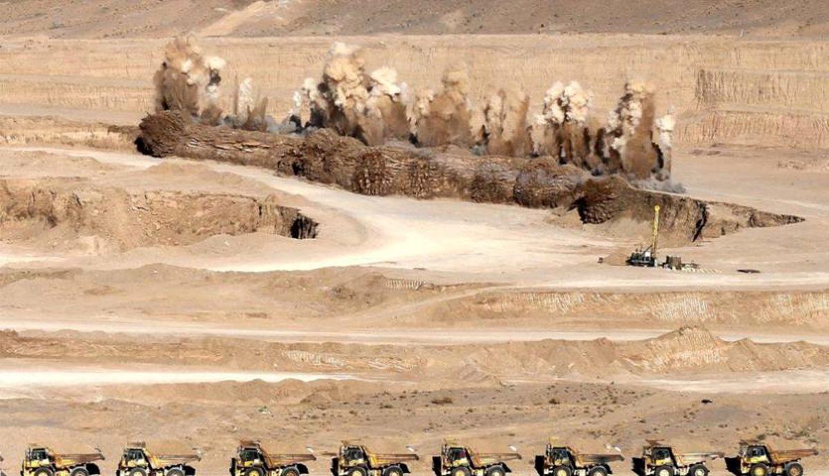 برنامه دستیابی به استخراج بیش از ۵۰۰ میلیون تنی مواد معدنی