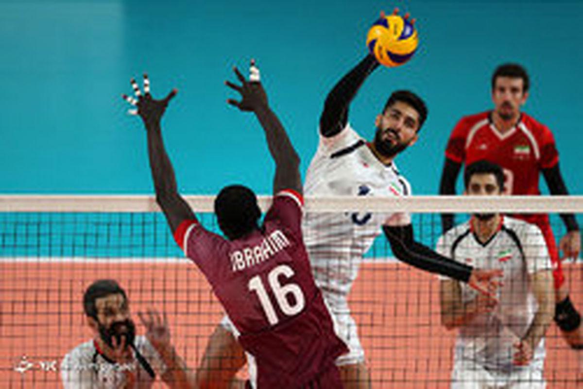 پخش زنده دیدار والیبال ایران و امریکا | چهارشنبه 17 مهر