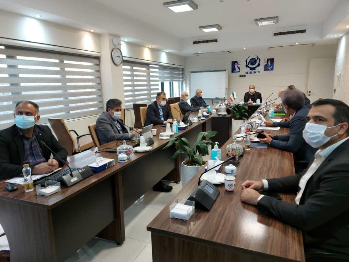 یکصد و چهل و هفتمین جلسه تولید شرکت میدکو برگزار شد